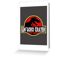Un'Goro Crater Greeting Card