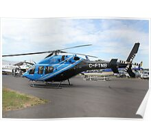 C-FTNB, Bell 429 Helicopter Poster