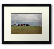 9M-XAC Oakland Raiders A340 Framed Print