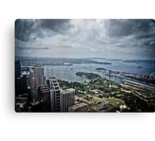 Sydney Harbour from the 360 tower Canvas Print