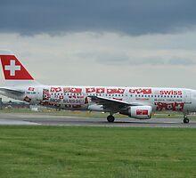Swiss World cup Plane by J0KER