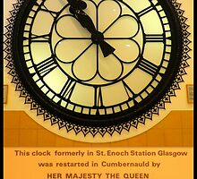 The Clock in the Plaza by ©The Creative  Minds