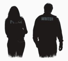 A Writer & His Muse One Piece - Short Sleeve