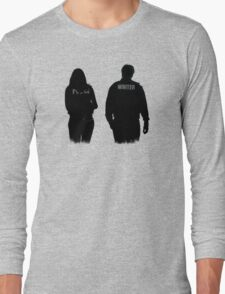 A Writer & His Muse Long Sleeve T-Shirt