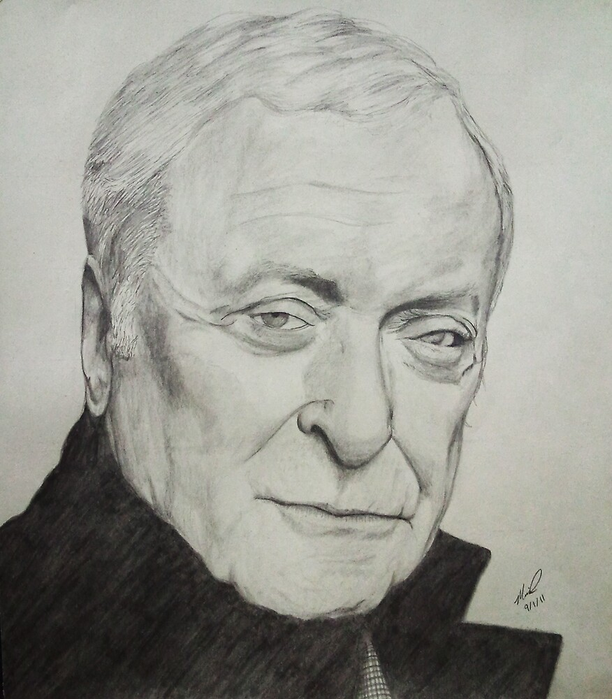 Michael Caine Sketch by FajitaPitaGuy