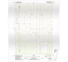 USGS Topo Map Oregon Horse Butte 280239 1988 24000 Poster