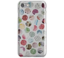 Collage Dots - JUSTART © iPhone Case/Skin