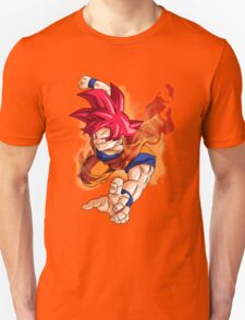 Super Saiyan God Goku T-Shirt
