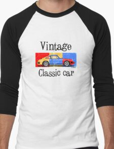 Vintage classic car Men's Baseball ¾ T-Shirt