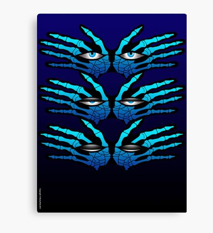 ALL SEEING EYES Canvas Print