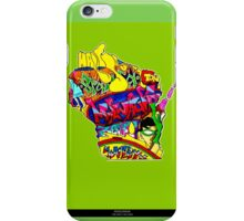 Wisconsin State, includes colorful Wisconsin State icons iPhone Case/Skin