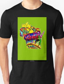 Wisconsin State, includes colorful Wisconsin State icons T-Shirt