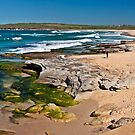 Maroubra beach 2 by Liz Percival