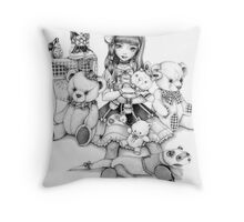 Lolita Boudoir Throw Pillow