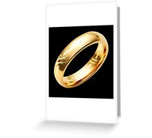 Reptile Ring to Rule Them All Greeting Card