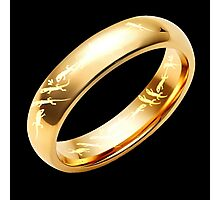 Reptile Ring to Rule Them All Photographic Print