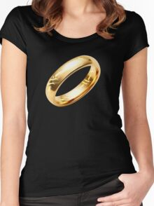 Reptile Ring to Rule Them All Women's Fitted Scoop T-Shirt