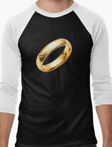 Reptile Ring to Rule Them All Men's Baseball ¾ T-Shirt