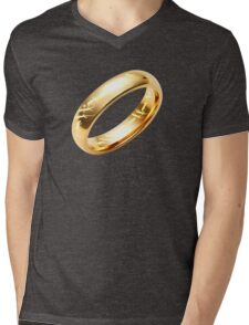 Reptile Ring to Rule Them All Mens V-Neck T-Shirt