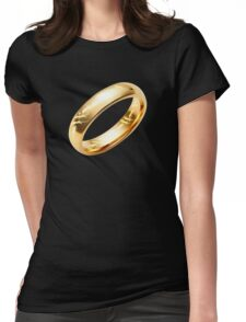 Reptile Ring to Rule Them All Womens Fitted T-Shirt