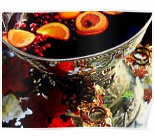 Apple Cider in Silver Poster