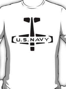 U.S. NAVY Stamp (Black) T-Shirt