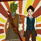 Madame Vastra &amp; Jenny by Roo Logan