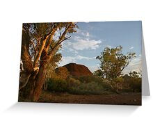 Sunset at the Creek Greeting Card
