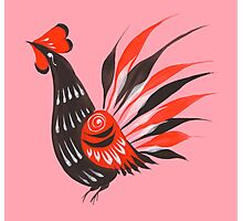 The roosters Photographic Print