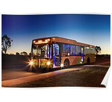 MAN low-floor city bus, ACTION, Canberra Poster