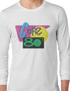 Back To The Cafe 80's Long Sleeve T-Shirt