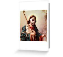 Based God Greeting Card