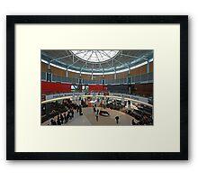 Qantas Terminal 2, Sydney Australia (interior) Framed Print