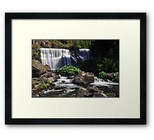 McCloud River Falls, The Middle Falls Framed Print