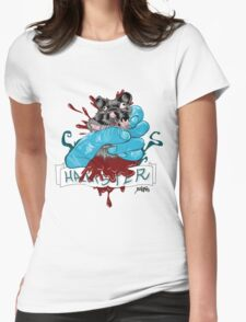 Hamster explosion Womens Fitted T-Shirt