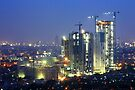 Kota Kasablanka (under construction, at dusk) by Property & Construction Photography