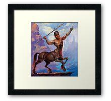 Based Centaur Framed Print