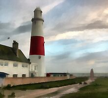 Portland Bill Lighthouse, Dorset, UK. by buttonpresser