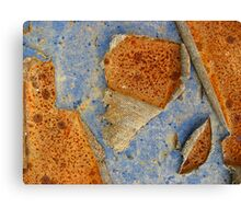 Rust and Blue - Islands in The Stream Canvas Print