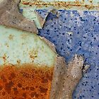Rust and Blue - Peel Away by Orla Cahill Photography