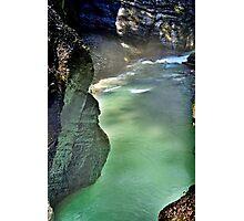 River Partnach Germany Photographic Print