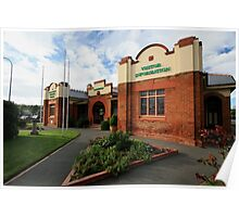 Queanbeyan Business Council & Visitor Information Poster