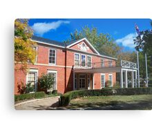 RG Menzies House Metal Print