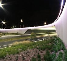 Kings Avenue Overpass (by night) by Property & Construction Photography