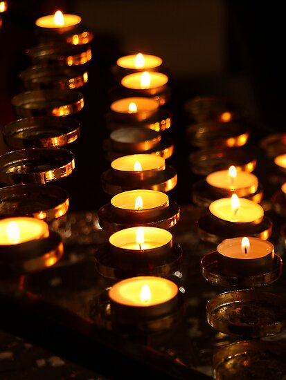 Prayer Candles by Harry Purves