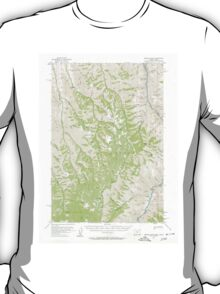 USGS Topo Map Oregon Kernan Point 282624 1954 62500 T-Shirt