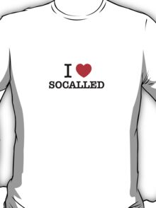 I Love SOCALLED T-Shirt