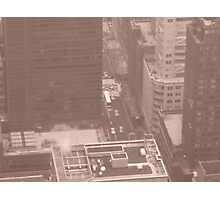 The Hectic Life of New York City Photographic Print