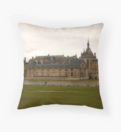 Castle Chantilly- Chantilly, Castle Throw Pillow