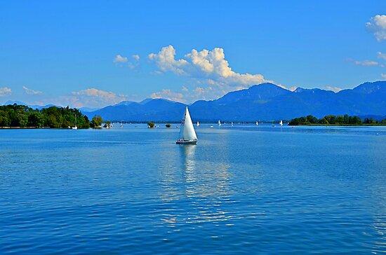 Lake Chiemsee Germany by Daidalos